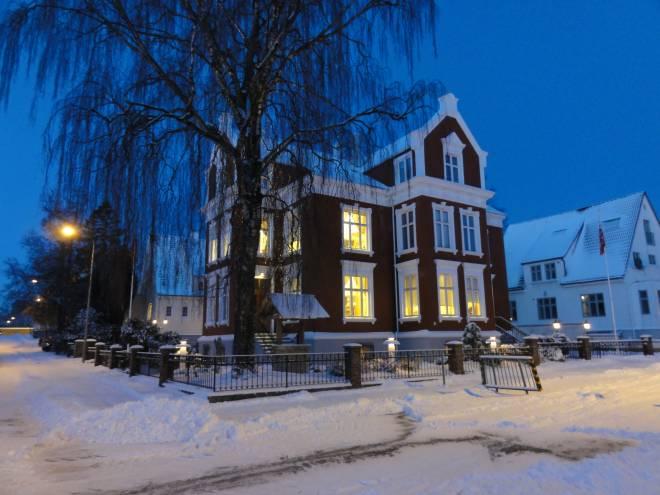 SAFE huset med snø
