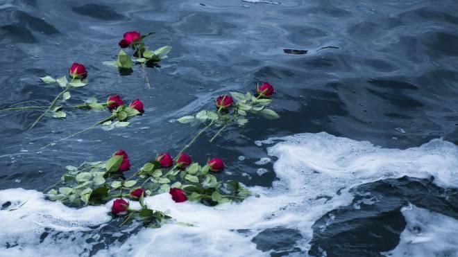 Fra minneseremonien etter Turøyulykken. Foto Statoil