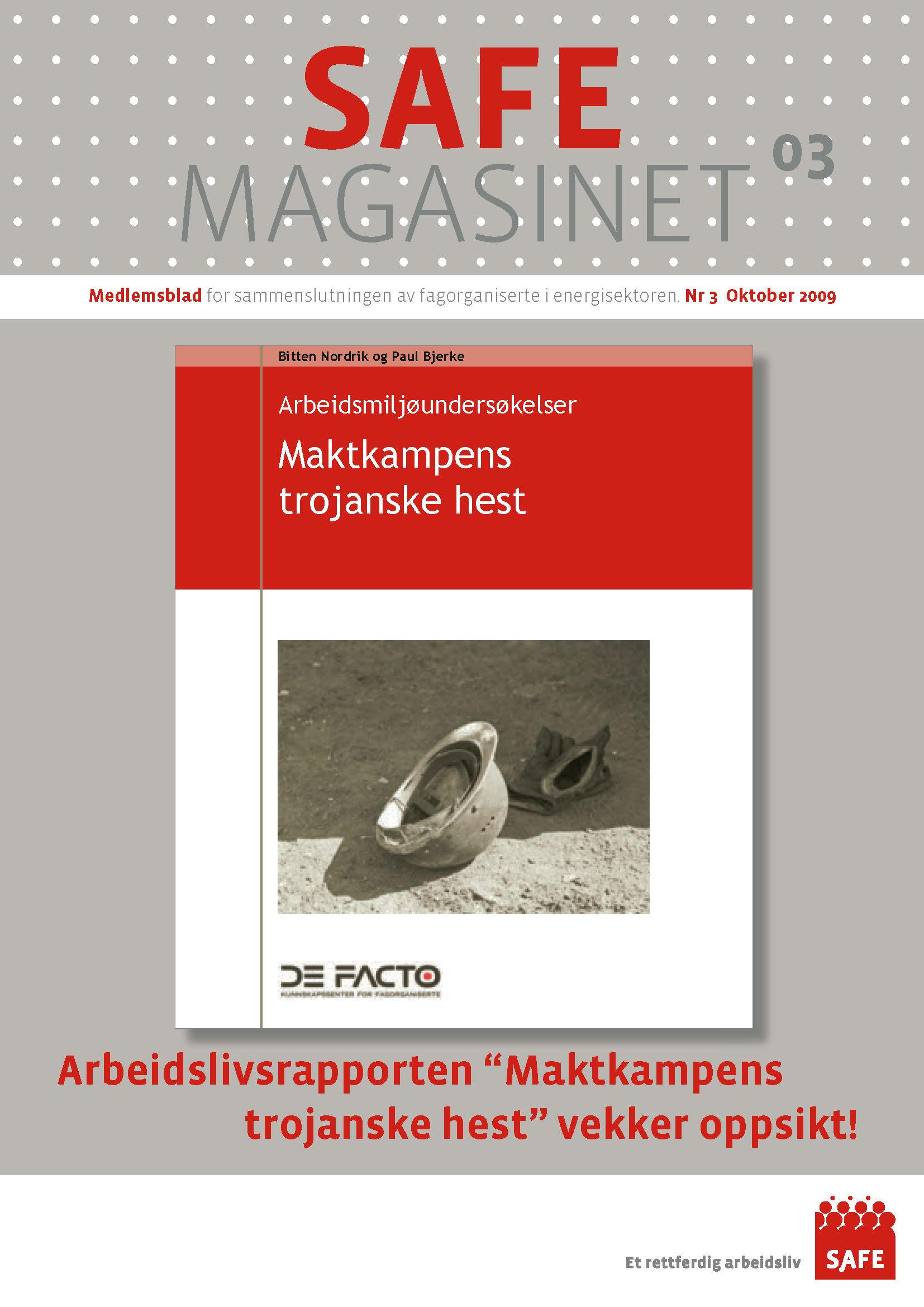 SAFE Magasinet 2009 Nr 3