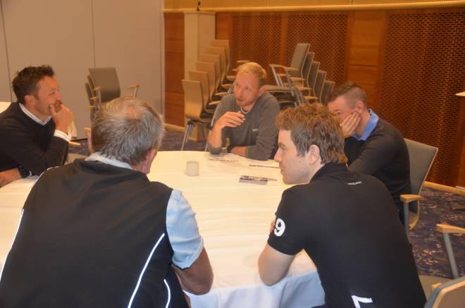 Gruppeleder Ole Gunnar Rasmussen ønsker tilbakemelding på hvordan AMU og BU fungerer.