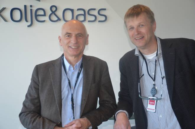 Jan Hodneland, Norsk olje og gass, og Levard Olsen-Hagen, SAFE.