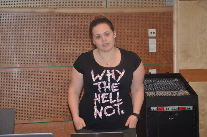Marie Wennberg, nestleder i Hammerfestklubben og leder i SAFE Ung