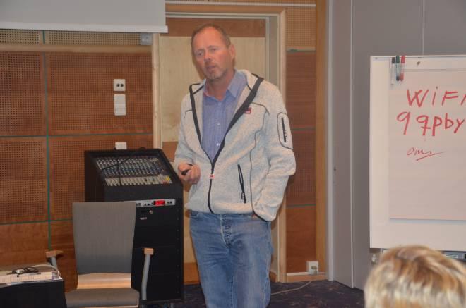 Owe Ingemann Waltherzøe, organisasjonssekretær i SAFE med ansvar for reisevirksomhet