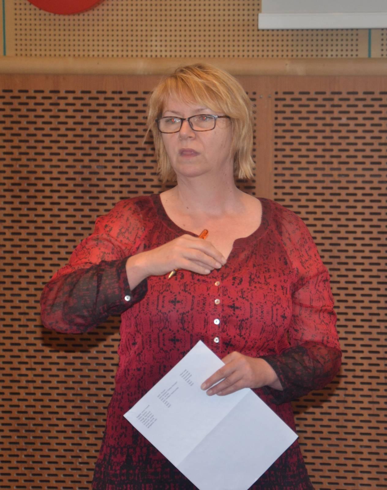 Reidun Ravndal er organisasjonssekretær i SAFE og har brønnservice som sitt område