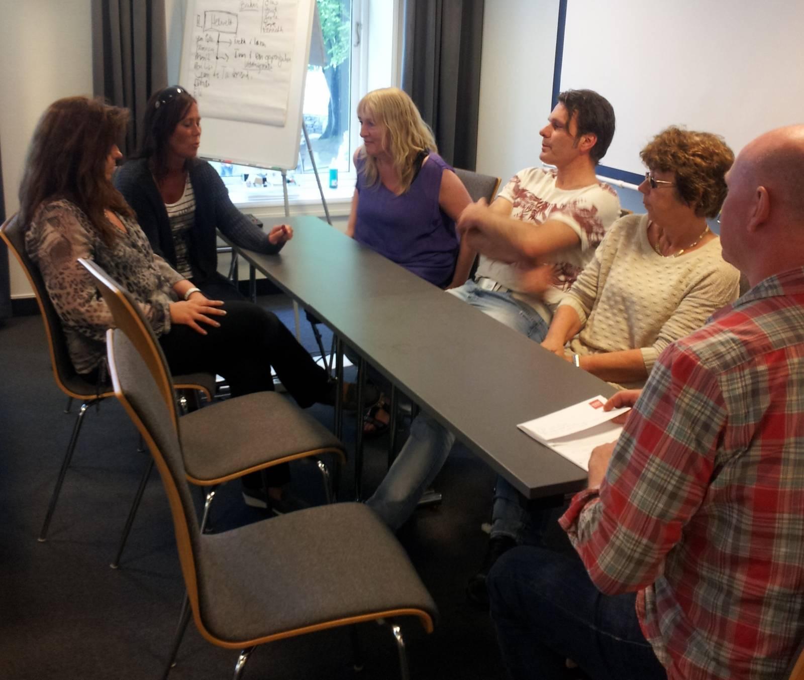 Rollespill i forhandlinger med ledelsen
