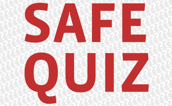 Illustrasjon for SAFE Quiz