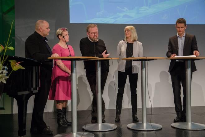 Broen til framtida, paneldebatt om olje
