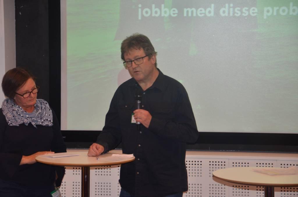 Roy Erling Furre under RNNP-konferansen