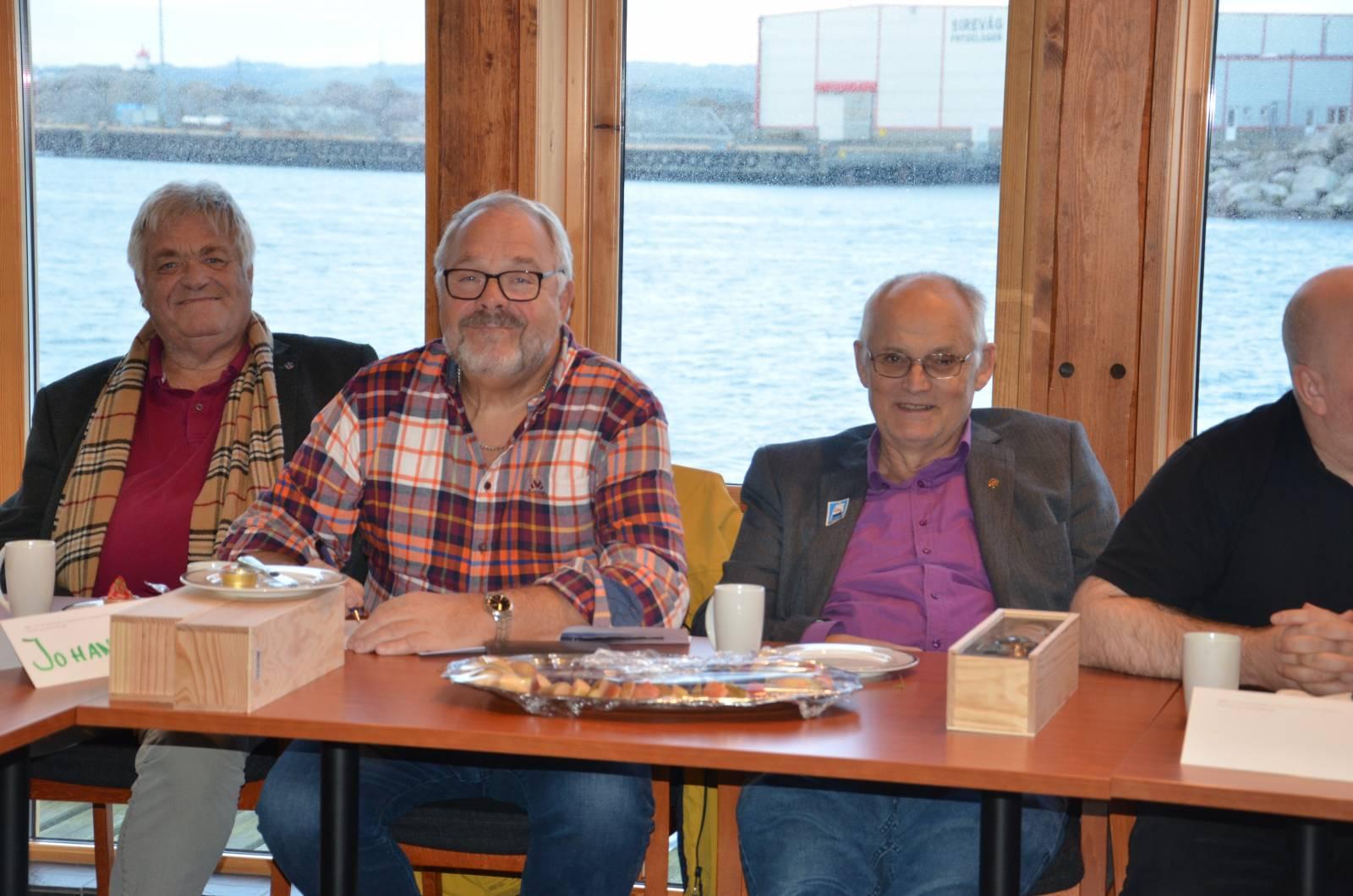 Pionerer og tillitsvalgte: Stein Bredal, Anders Lothe og Øyvind Krovik