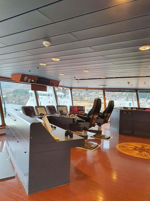 Broen på AKOFS Seafarer.