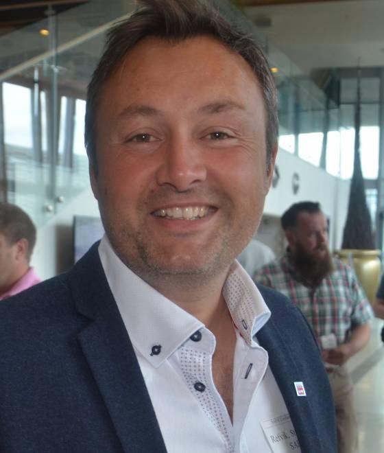 Forbundssekretær Stig-Rune Refvik