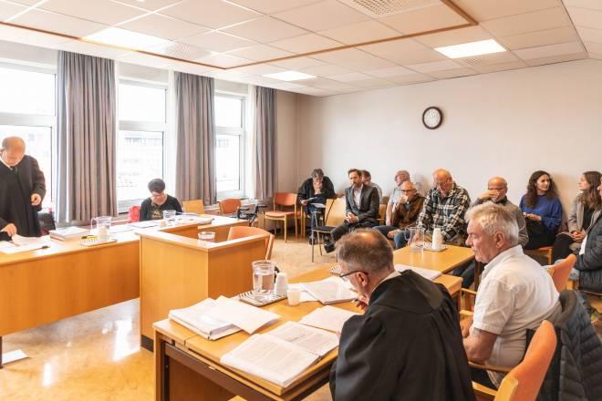 Fra rettssaken i lagmannsretten mellom Bjarne Kapstad og Tryg forsikring