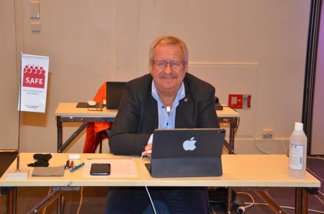 Første del av kongressen 2020 blir den siste som nestleder for Roy Aleksandersen.