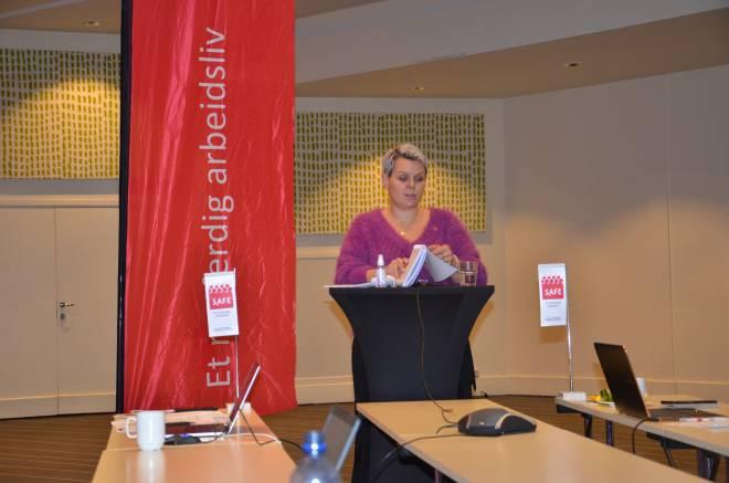 Hilde-Marit Rysst åpnet kongressen