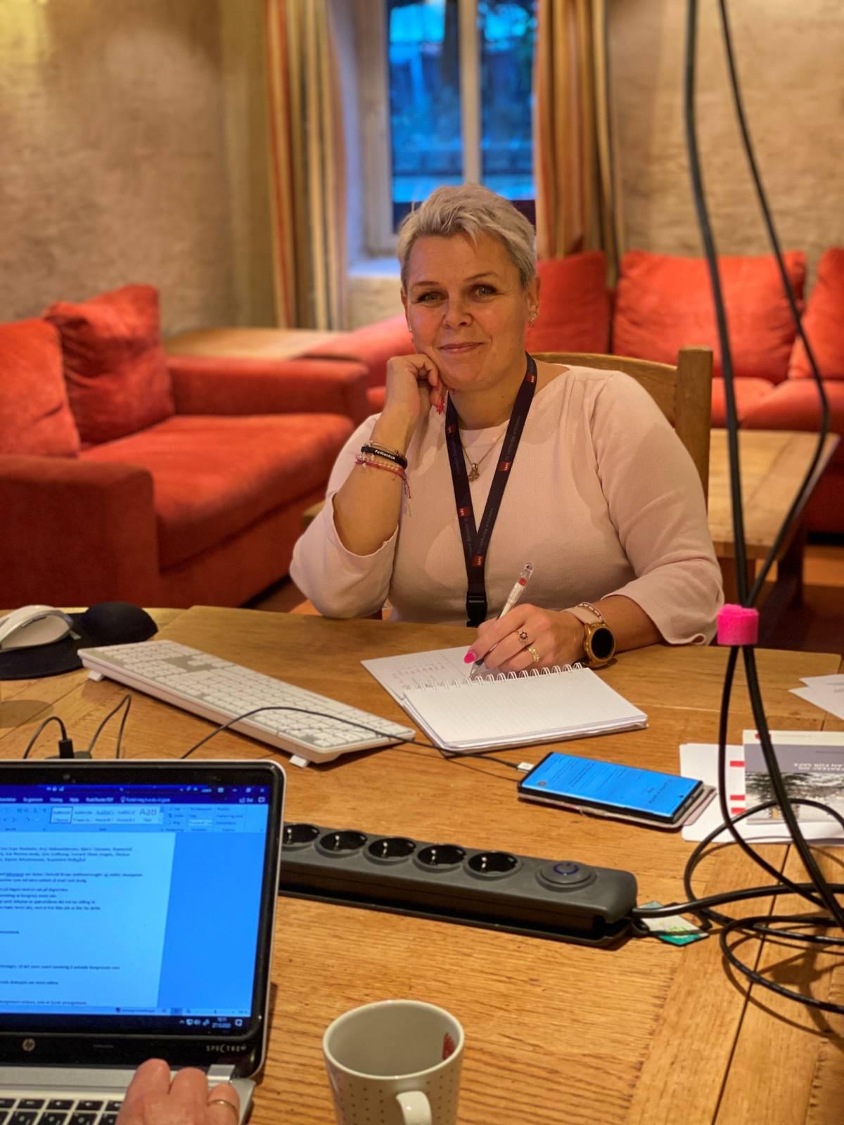 Hilde-Marit Rysst, gjenvalgt forbundsleder i SAFE