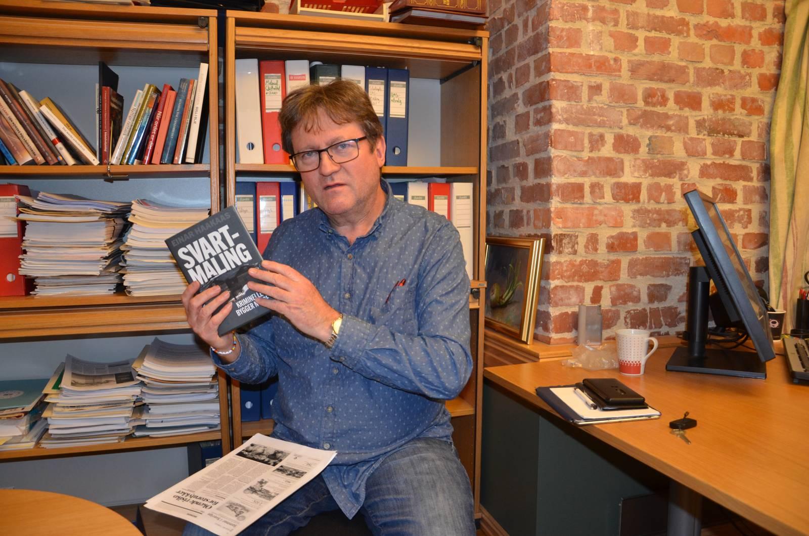 Nyttig bok om korrupt, utenlandsk innleiemarked. Foto: Mette Møllerop