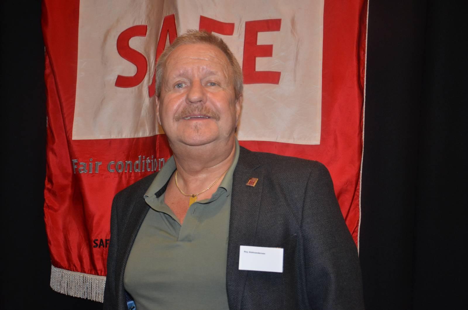 Stolt SAFER. Foto: Mette Møllerop