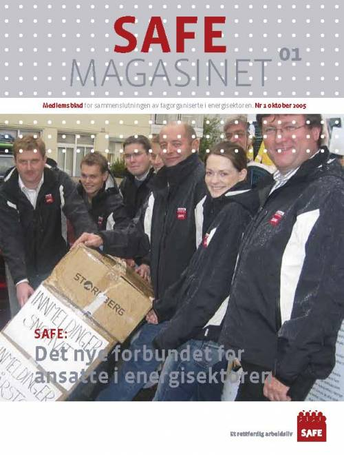 SAFE Magasinet 2005 Nr 1