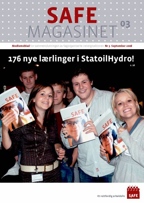 SAFE Magasinet 2008 Nr 3