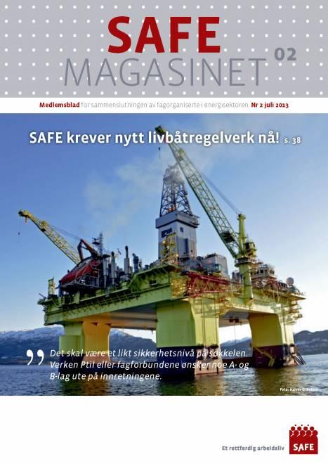 SAFE Magasinet 2013 Nr 2
