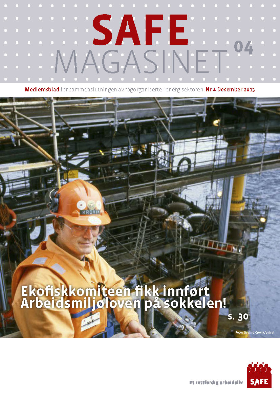 SAFE Magasinet 2013 Nr 4